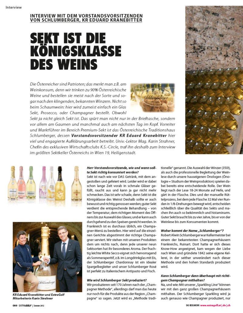 KS Circle Interview Schlumberger Mai 12